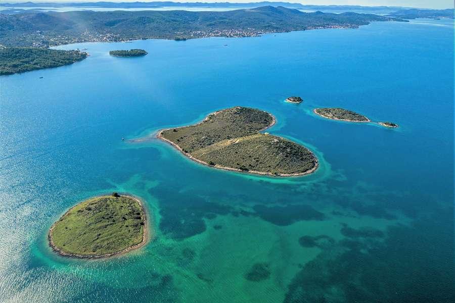 Galešnjak - Island of love